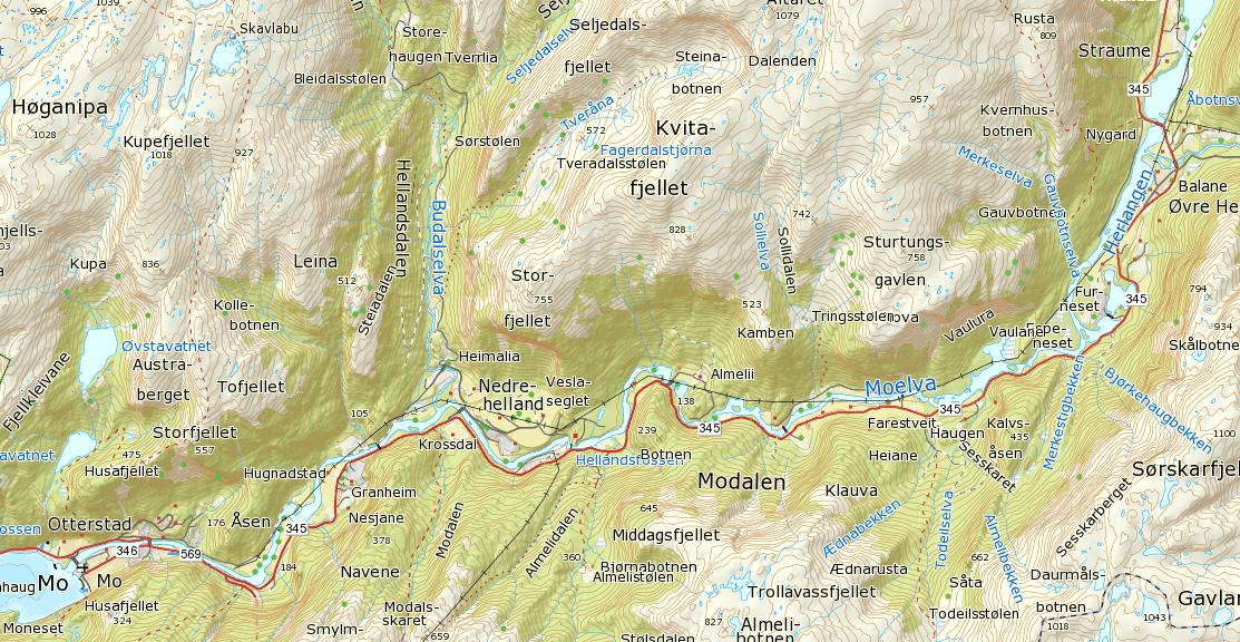 kart modalen Kart | Modalen Elveigarlag kart modalen